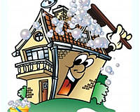 Уборка коттеджей и загородных домов