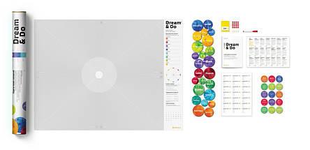 Интерактивный постер 1DEA.me Карта желаний Dream&Do (рус) (тубус), фото 2