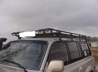 Багажник на крышу для Toyota Land Cruiser LC80 с сеткой
