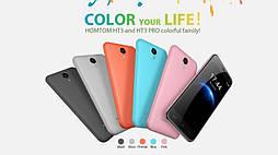 Смартфон Doogee HomTom HT3 (pink) 1Gb/8Gb Гарантия 1 Год!, фото 2
