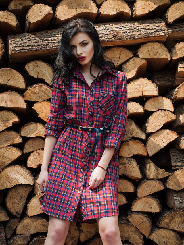 6caa97270f1 Стильное женское летнее платье-рубашка лён. Модное женское летнее платье- рубашка в клетку