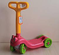 Самокат детский четырёхколёсный Технок