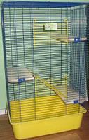 Клетка для шиншилл СТ Шиншила-50  высокая клетка 50*35*h 82см (1см)