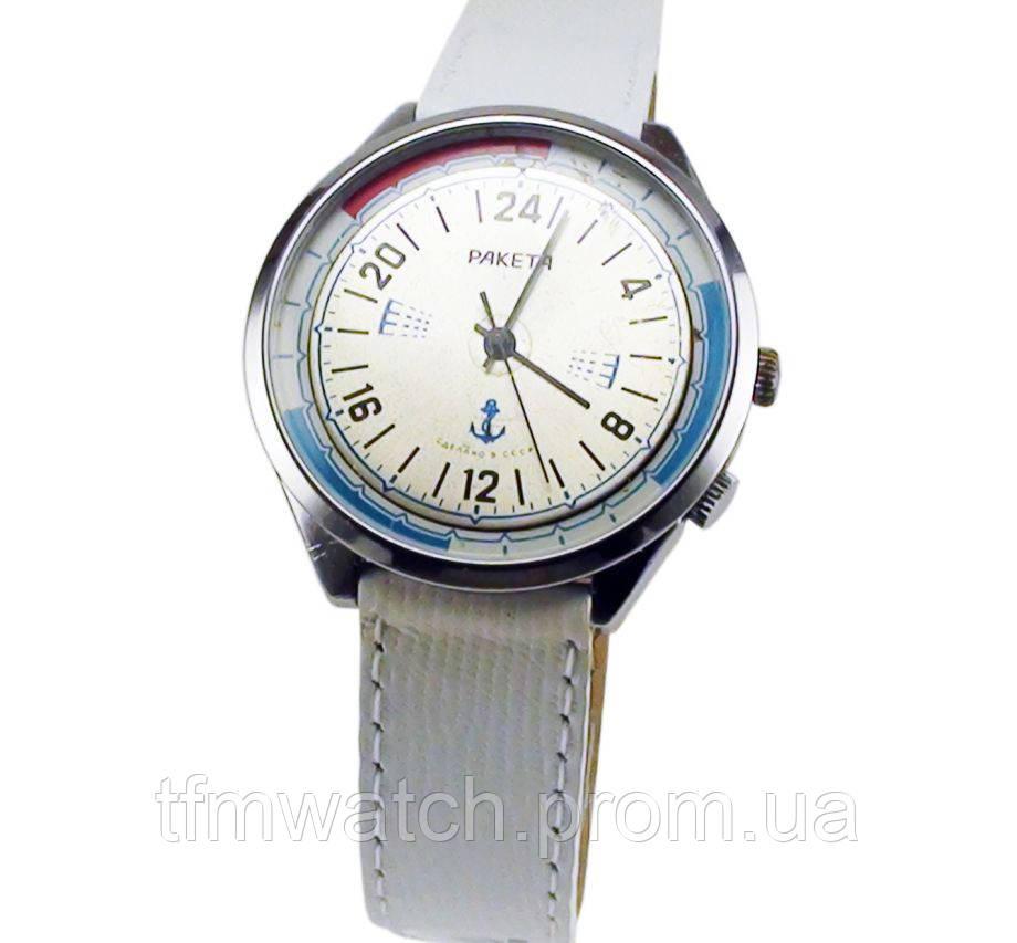 Механические часы Ракета 24 часа вахта СССР