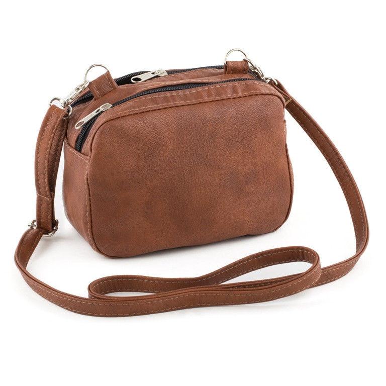 6277228b580d Маленькая сумка на плечо Cash св.коричневый - Интернет–магазин «Nona–style