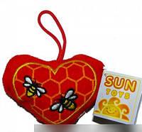 Мягкая игрушка Сердце 9 см