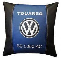 Подушка в машину автомобильная с логотипом WV
