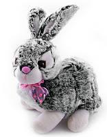 Мягкая игрушка озвученная Кролик сизый