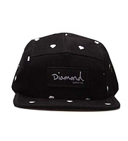Кепка Diamond Supply Co Snapback Black, фото 1