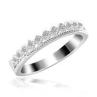 Женское кольцо с камнями 16 р серебро