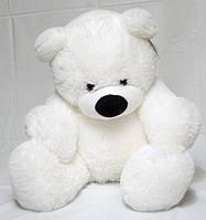 """Мягкая игрушка Медведь сидячий """"Бублик"""" белый  77 см"""