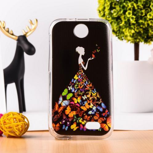 Силіконовий чохол накладка для HTC Desire 310 з картинкою фея
