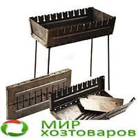 Мангал-чемодан на 10 шампуров складной-2мм