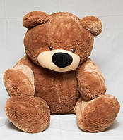 """Мягкая игрушка Медведь сидячий """"Бублик"""" коричневый 200 см"""