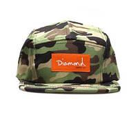 Кепка Diamond Supply Co Snapback Camo, фото 1
