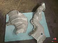 Защита выхлопной системы на Kangoo 2008-2012 1,5 DСI