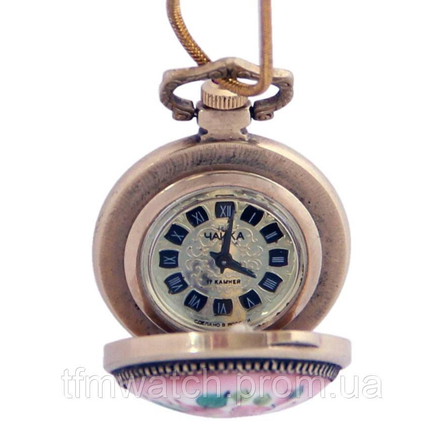 Чайка женские механические часы-кулон Россия