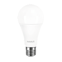 Светодиодная лампа MAXUS Р 12Вт A60 E27 Нейтральный белый 4100К