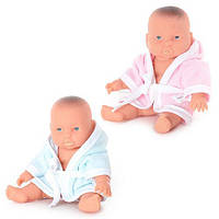 Кукла - пупс в банном халатике, 6 шт, в кульке, 30-17 см, FD 221 HN