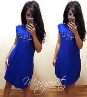 Платье-туника Balmain яркое летнее  SMANG197