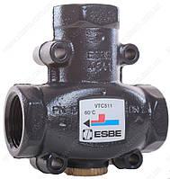 "ESBE VTC511 3-ходовой термический клапан T=60°C Rp 1"" Kvs 9"