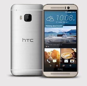 Смартфон HTC One M9 32GB (Gold on Silver) + Harman Kardon One, фото 2
