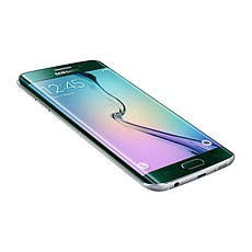 Смартфон Samsung G925F Galaxy S6 Edge 32GB Green Emerald (SM-G925F), фото 3