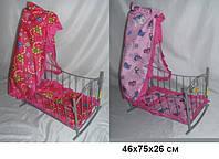 Игрушечная кроватка-качалка с балдахином Melobo 9349 SR