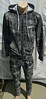 Трикотажный спортивный костюм Найк зауженные штаны купить, фото 1