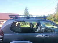 Багажник на крышу для Toyota Land Cruiser Prado LC120 с сеткой