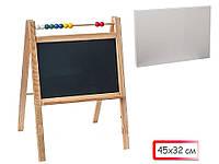 Доска-мольберт для рисования 2хсторонняя