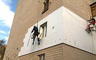 Утепление наружных стен Харьков, пенопласт, пенополистирол