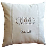 Подушка сувенирная  с логотипом Audi, фото 4