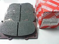 Колодки тормозные передние (оригинал) на Toyota Land Cruiser Prado, Hilux, Tundra, FJ Cruiser