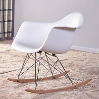 Кресло-качалка  Лаунж Dom, цвет белый