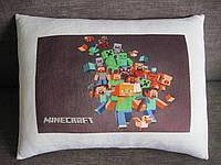 Декоративная подушка Майнкрафт Minecraft