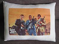 Декоративная подушка  с фото из игры GTA
