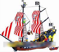 Детский конструктор Brick 308 Пиратский корабль 870 деталей