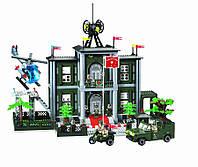 "Конструктор Brick 825 ""Штаб"", 1048 деталей"