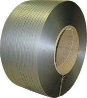 Полипропиленовая лента 19 мм х 0,9 мм х 1.0 км серая