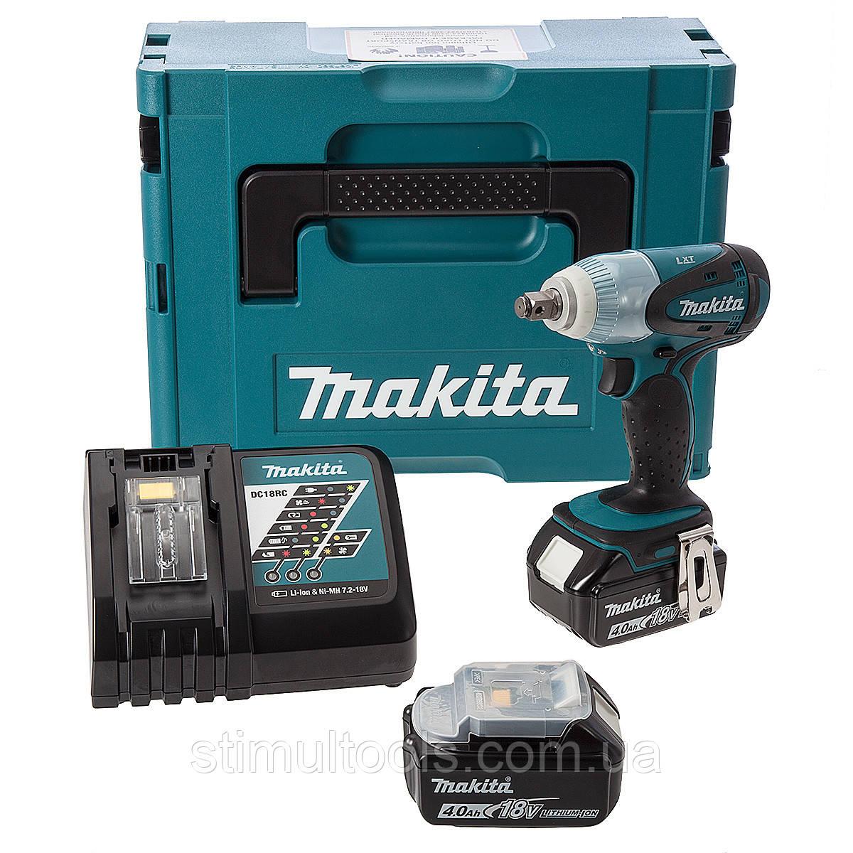 Аккумуляторный ударный гайковерт Makita DTW251RMJ