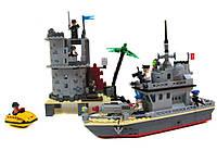 Конструктор Brick 819 Форт на острове, 505 деталей