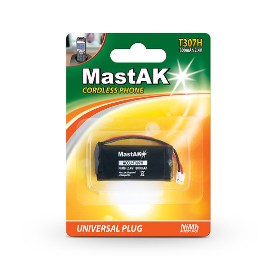 Аккумулятор MastAK T307H (AA) 2,4V 800mAh