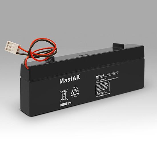 Аккумулятор MastAK MT636  6V 3.6Ah