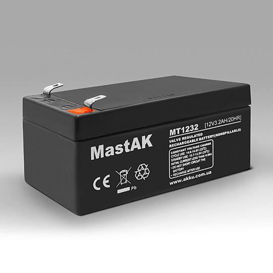 Аккумулятор MastAK MT1232 12V 3.2Ah