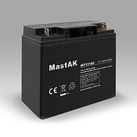 Аккумулятор MT12180 MastAK 12V18Ah