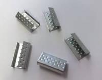 Скрепа металлическая 19мм для полипропиленовой стреппинг ленты