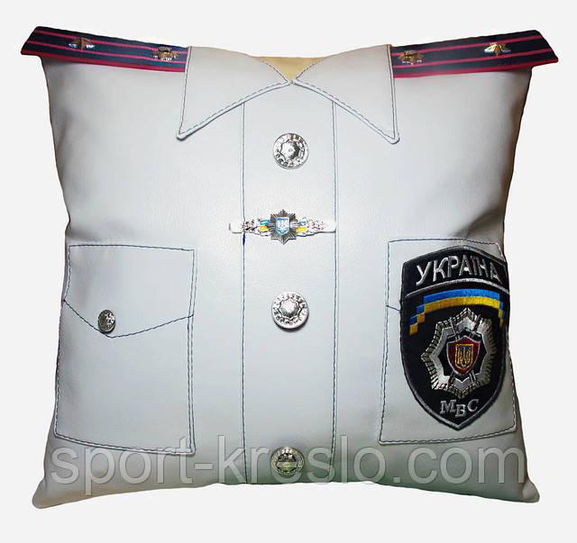 Сувенирная декоративная подушка Полиция, Медик, ДСНС, МВД и СБУ