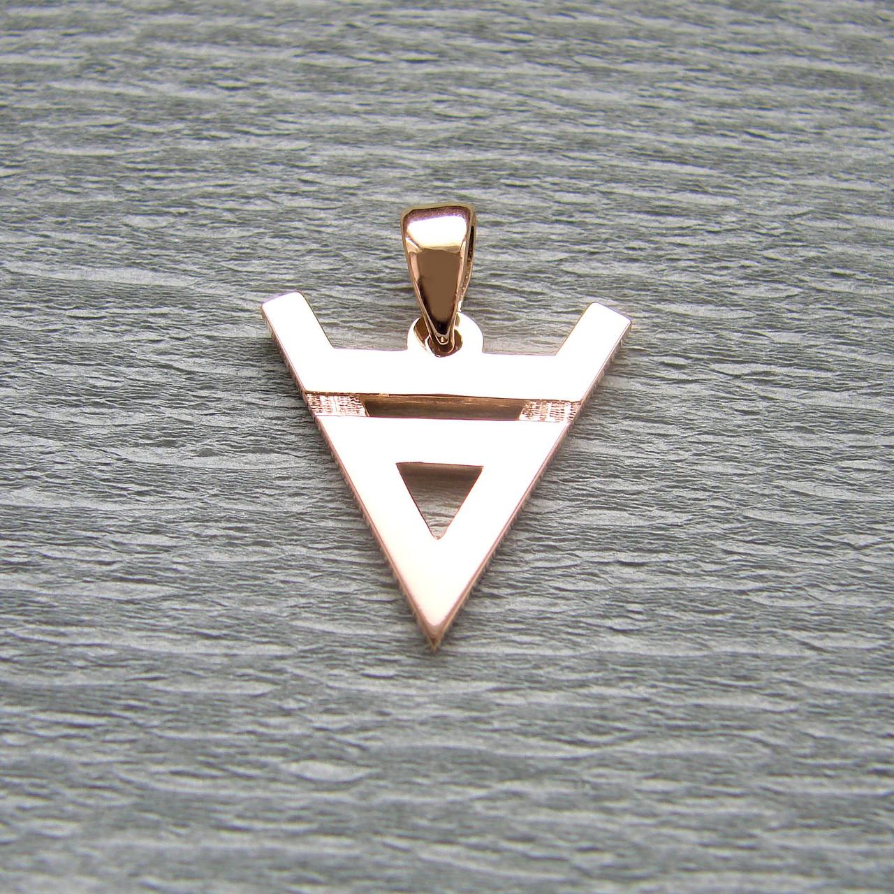 """""""Символ Велеса"""" - слов'янський оберіг із золота 585 проби"""