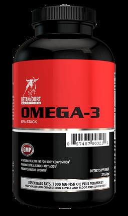Omega-3 EFA-Stack Betancourt Nutrition 270 Softgels, фото 2